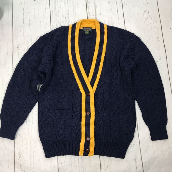 Charter Club Other - Charter Club Men's Cable-knit Cardigan Sweater